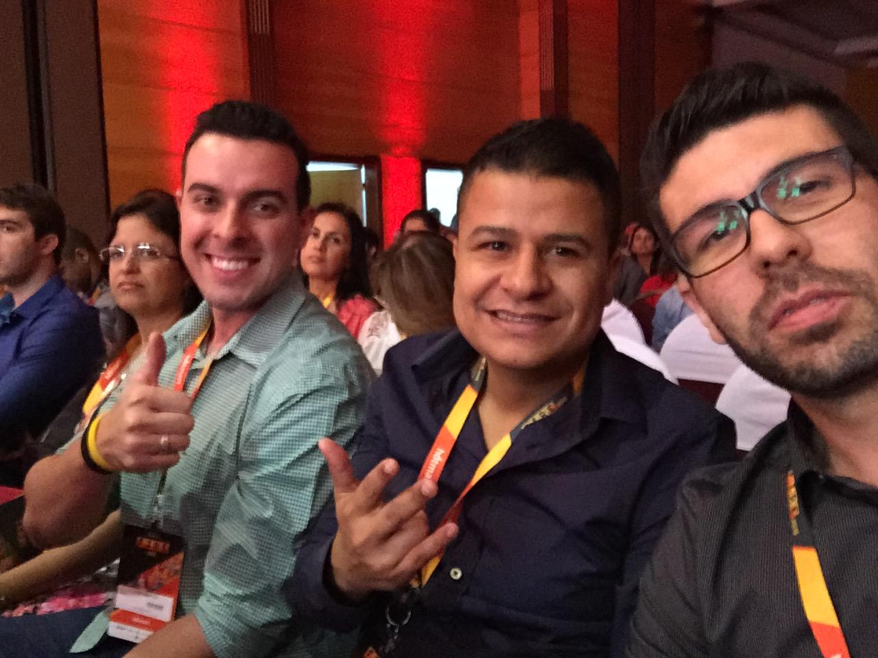 Tiago, Renato e Torriani